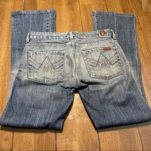 7 For All Mankind Bootcut Jeans Preloved 27